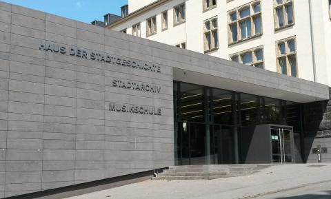 Eingang Haus der Stadtgeschichte