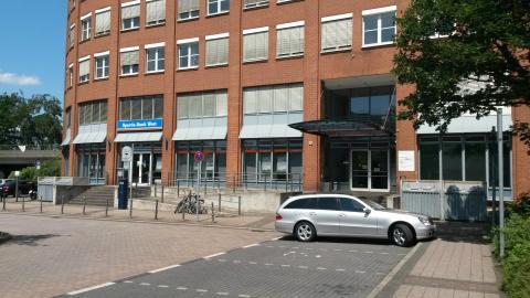 Eingang Sozialagentur Stadmitte