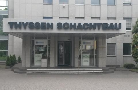 Eingang Thyssen Schachtbau