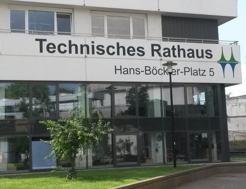 Eingang Technisches Rathaus