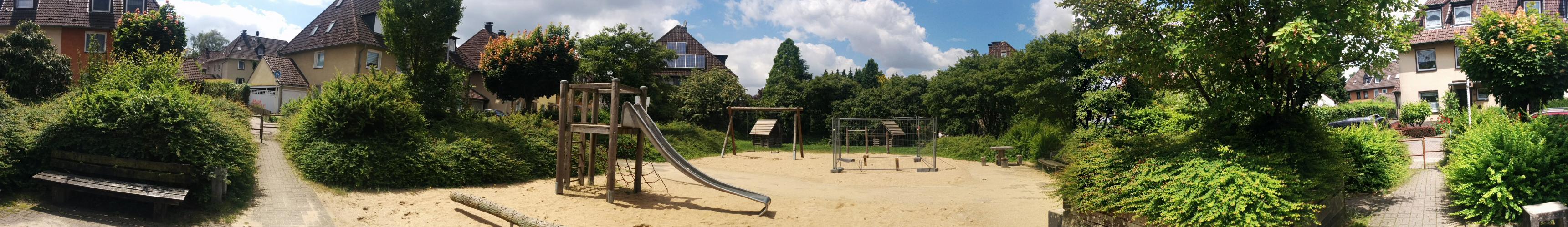Spielplatz Konrad-Steiler-Str. Mülheim an der Ruhr - Panorama 1