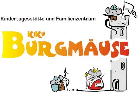 Logo der KiKu Burgmäuse