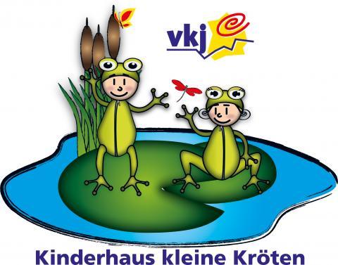 Logo Kinderhaus kleine Kröten