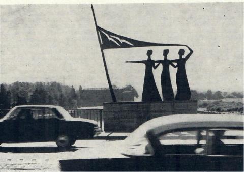Adolfs, Heinrich: Lebensfreude, Gesamtansicht, Foto: Kunstmuseum Mülheim an der Ruhr, 1965.