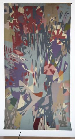Dahler, Gustav: Wandteppich, Gesamtansicht; Foto: Kunstmuseum Mülheim an der Ruhr 2009.