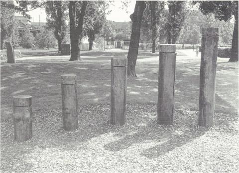 Gruppe Radius: o.T. (Objekt I); Foto: unbekannt.