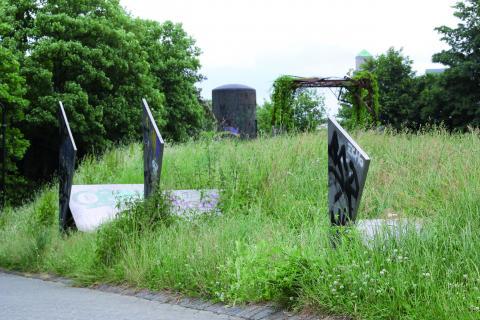Koch, Diethelm: Drei Quadrate, Foto: Kunstmuseum Mülheim an der Ruhr 2013.