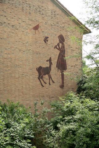 Kühn, Herbert: Flöte spielendes Mädchen, Foto: Kunstmuseum Mülheim an der Ruhr/ Ralf Raßloff 2008.