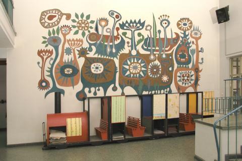 Netzewitz, Karlheinz: Garten der Seramis; Foto: Kunstmuseum Mülheim an der Ruhr 2007.