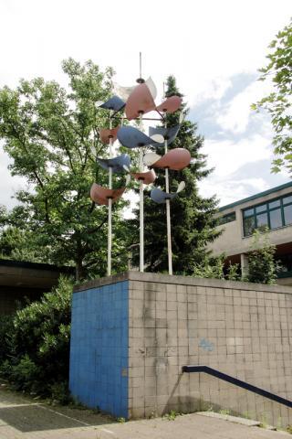 Prasse, Karl: Kinetisches Objekt, Foto: Kunstmuseum Mülheim an der Ruhr/ Ralf Raßloff 2008.