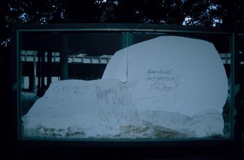 Serwotke, Evelyn: Beschädigungen; Foto: Kunstmuseum Mülheim an der Ruhr, vor 2001 (digitalisiertes Foto).
