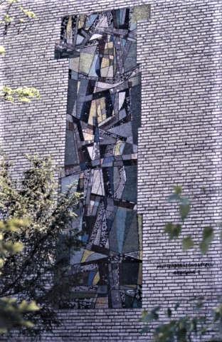 Siepmann, Heinrich: Wandmosaik, Foto: Kunstmuseum Mülheim an der Ruhr o.J.