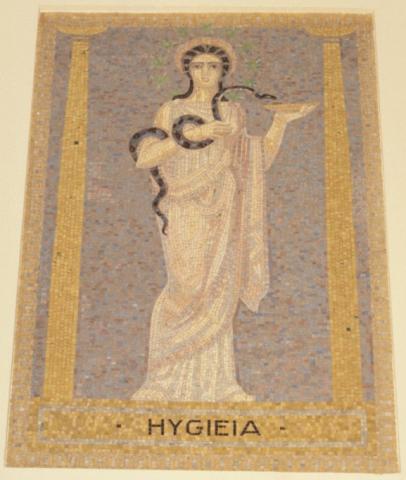 Köppen, Wilhelm: Hygeia; Foto: Kunstmuseum Mülheim an der Ruhr 2001.