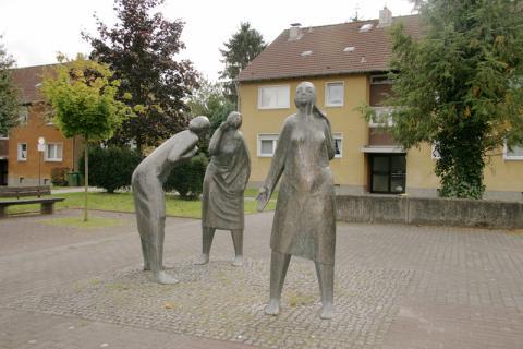 Rssche, Ernst: Kommunikation; Foto: Kunstmuseum Mülheim an der Ruhr 2008.