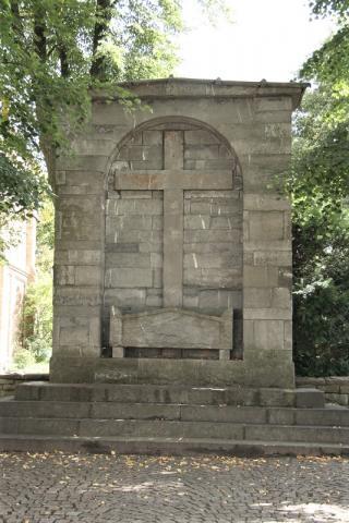 Grabmal der Äbtissin Friderica Agatha von Hinsberg; Foto: Kunstmuseum Mülheim an der Ruhr 2007.