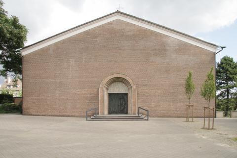 Wyland, Carl: Gesamtansicht Lindehof; Foto: Kunstmuseum Mülheim an der Ruhr 2007.