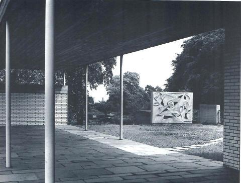 Rasche, Ernst: Engelwand; Foto: unbekannt.
