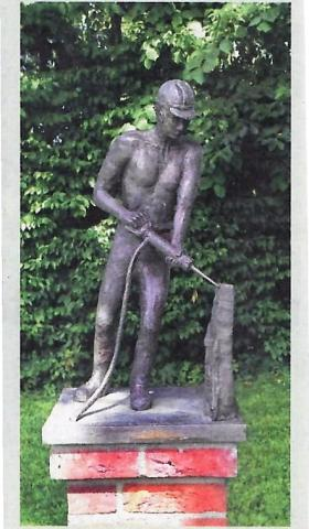 Leyendecker, Jochen: Bergmann; Foto: unbekannt (Archiv Kunstmuseum).