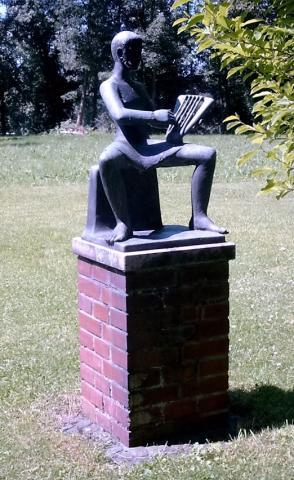 Rasche, Ernst: Orpheus - ursprünglicher Standort in Privatgarten; Foto: privat 2009.