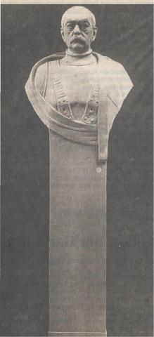 Künne, Arnold: Bismarck-Büste, 1910; Foto: Stadtarchiv Mülheim an der Ruhr o.J.