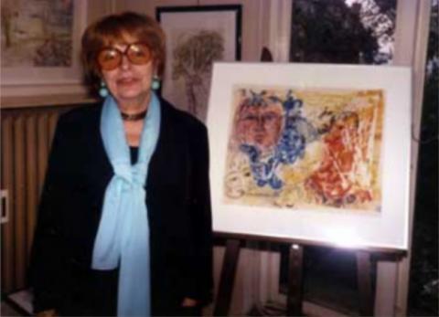 Porträt der Künstlerin Alice Koch-Gierlichs; Quelle: http://www.alice-koch-gierlichs.de/biographie.html (Abruf: 17.04.2020).